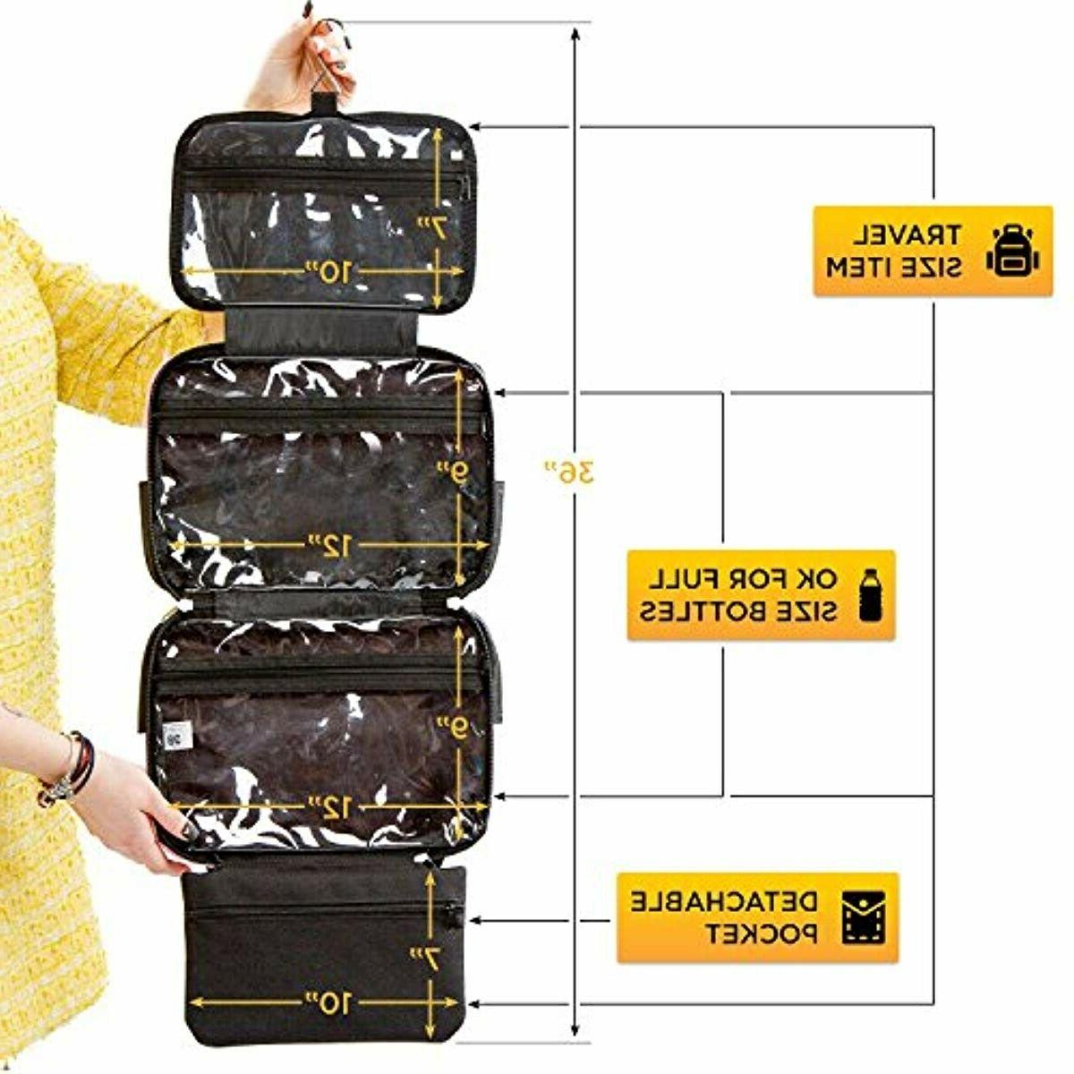 Large Bag - Perfect Hanging Travel Organizer