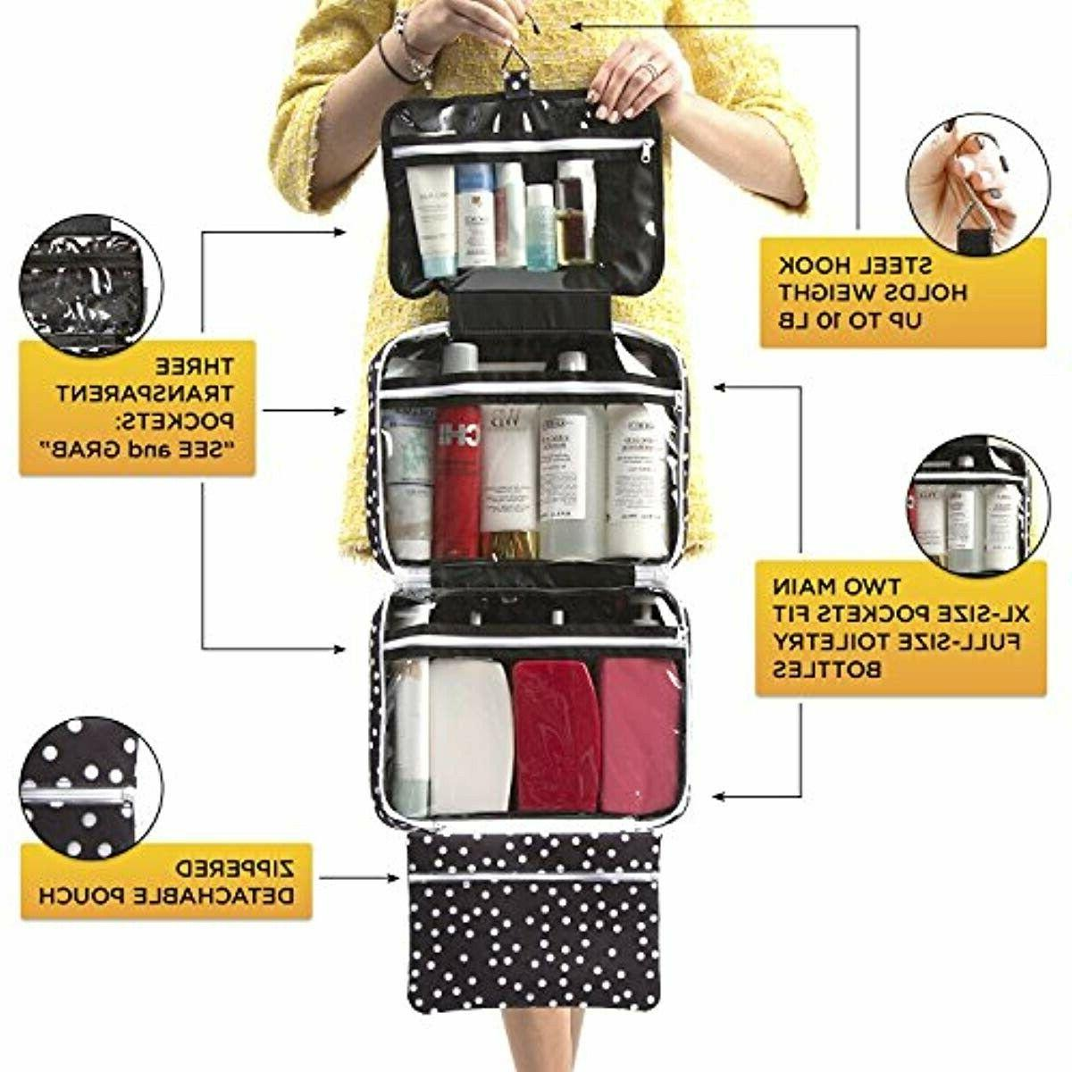 Large Bag - Travel Toiletry Organizer