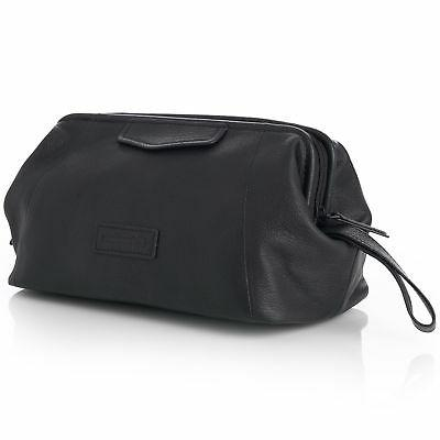 lauter toiletry bag genuine leather