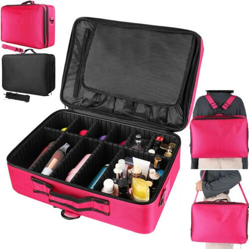 makeup bags professional cosmetic case portable travel