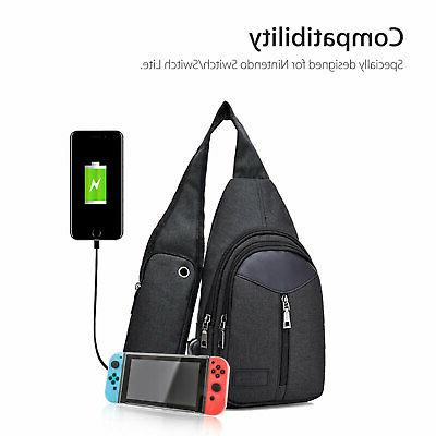 Nylon Bag For Nintendo Backpack With Chest