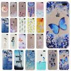Painted Pattern Silicone TPU Soft Back Case Cover For iPhone