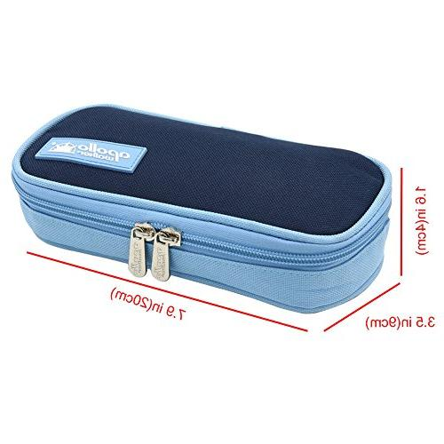 goldwheat Portable Bag Medical Travel Cooler 2 Ice Pack