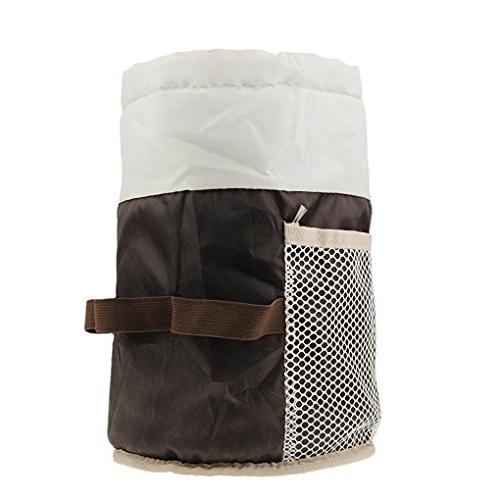 Portable Travel Toiletry Cosmetic Bag Storage Drawstring Carry On Case