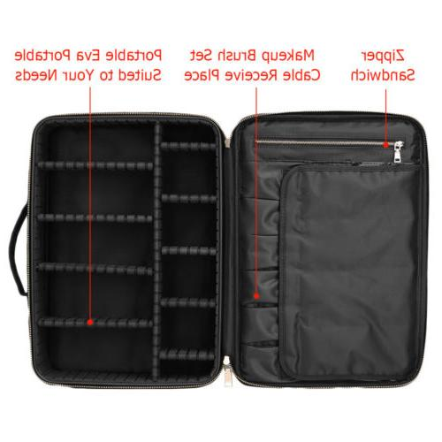Professional Bag Cosmetic Case Travel