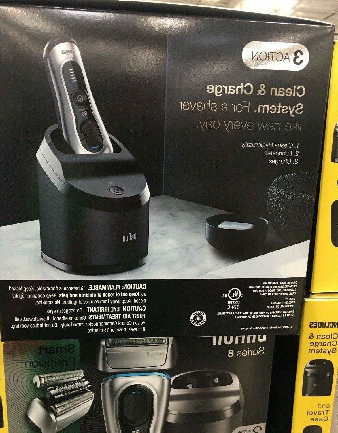 Braun Electric Shaver Charge & Case