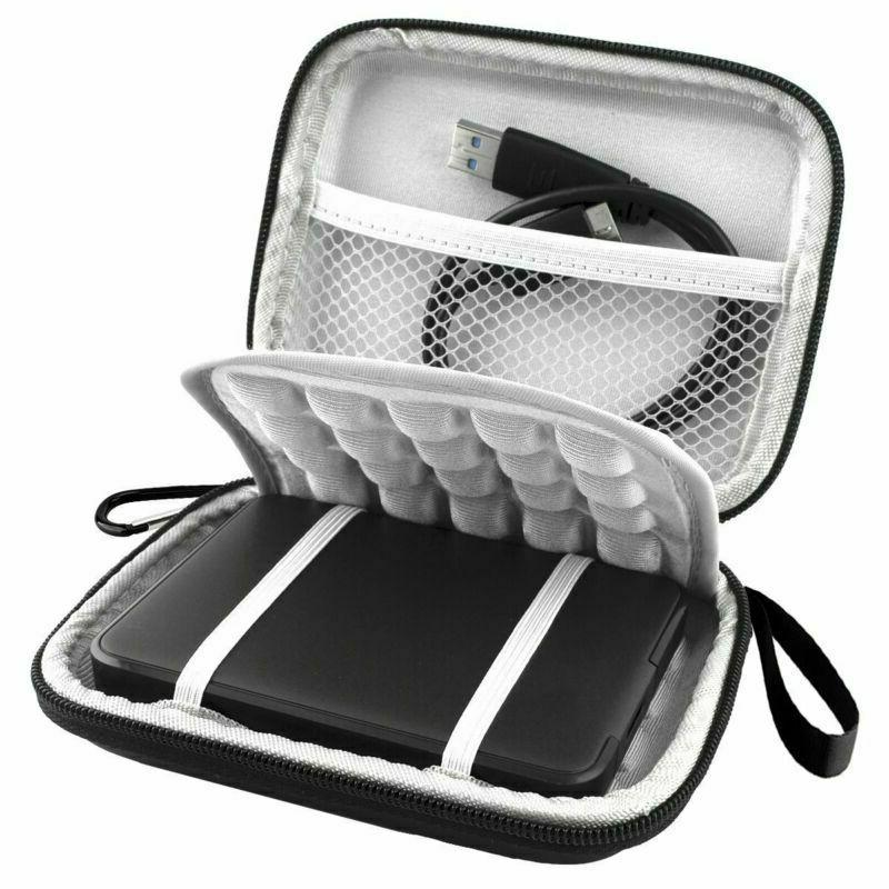 shockproof carrying case for western digital travel