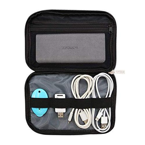 MOSISO MacBook Electronics Accessories for Notebook Power Drive, Cable, Mouse, HDD, Charging Charger, Gray