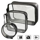 Transparent Cosmetic Case Clear Plastic PVC Travel Cosmetic