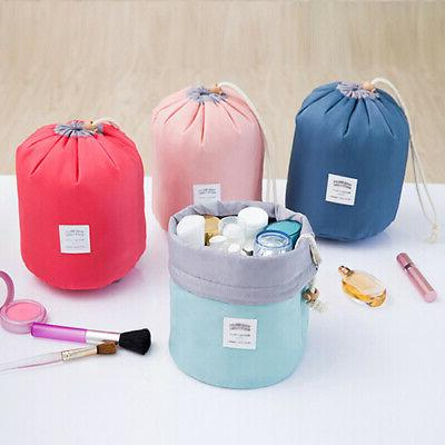 Travel Cosmetic Bag Toiletry Drawstring Pouch Wash Organizer
