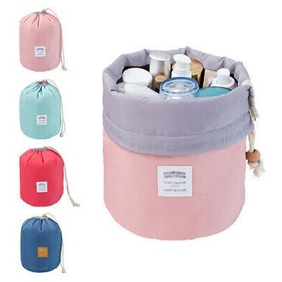 travel cosmetic makeup bag toiletry case drawstring