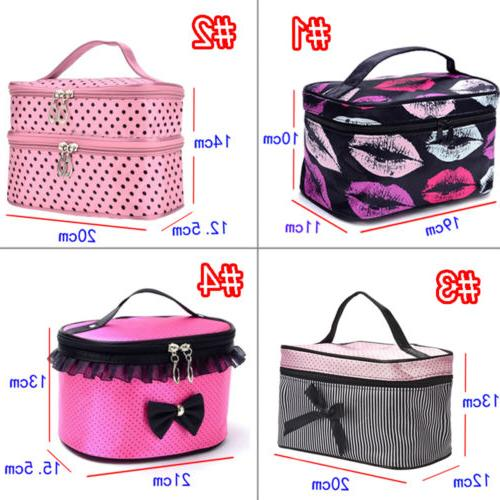 Travel Toiletry Holder Makeup Case Beauty Accessory Bags