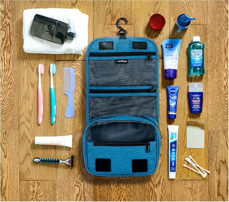 Travel Portable Makeup Toiletry Wash Case Pouch Storage Hang
