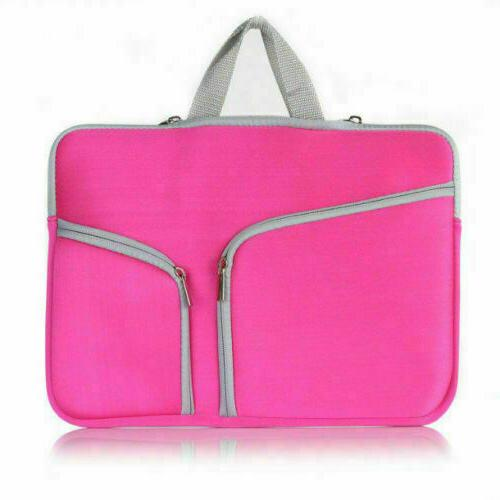 """For 12 15""""Inch Laptop Sleeve Carry Pouch Bag"""