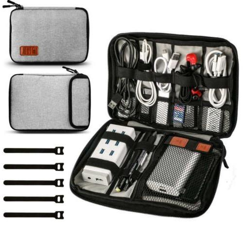 universal travel cable organizer bag electronic accessories