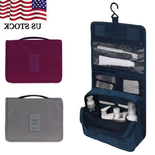us travel cosmetic makeup toiletry case wash