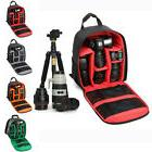 Waterproof DSLR Camera Backpack Travel Case Shoulder Bag for