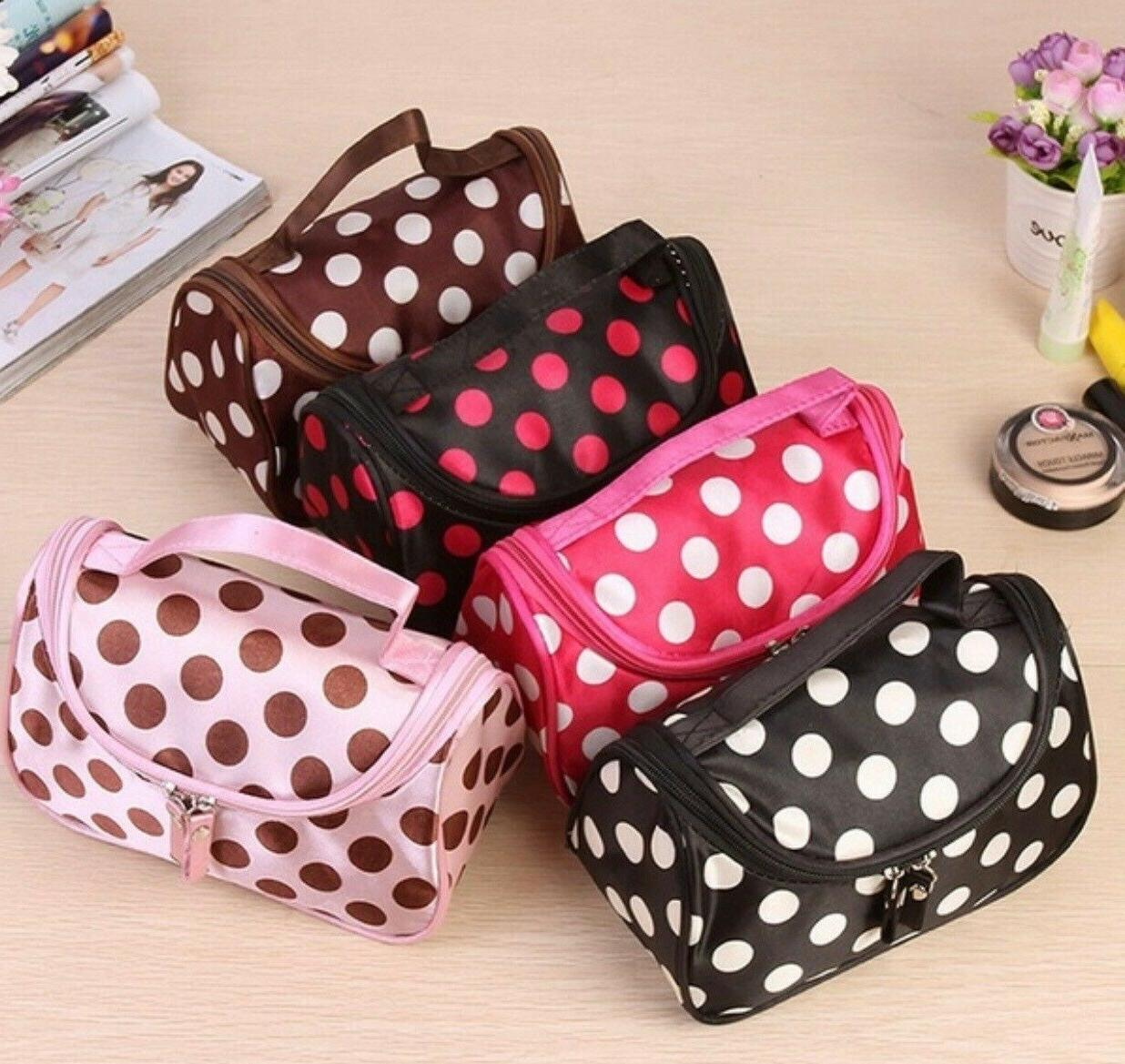 Women Beauty Cosmetic Makeup Case Wash Toiletry Bag Organizer