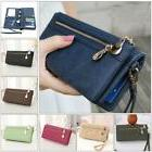 Women Lady Clutch Leather Wallet Long Card Holder Phone Bag