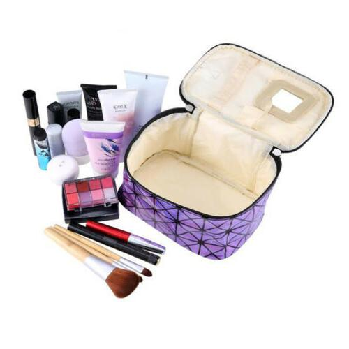 Women Multifunction Travel Bag Makeup Pouch Organizer US