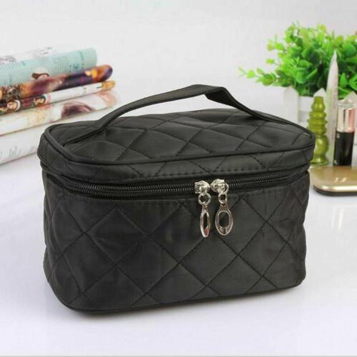Women Travel Cosmetic Case Toiletry Makeup Storage