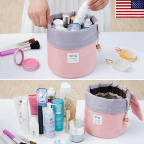 women travel makeup toiletry storage bag wash