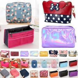 Ladies Travel Portable Cosmetic Makeup Beauty Bags Case Outd