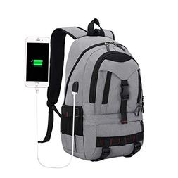 BLUBOON Travel Laptop Backpack with USB Charging Port, Water