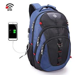 Travel Laptop Backpack-Water Resistant Business Laptops Comp