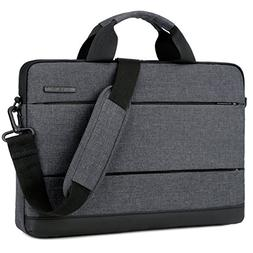 BRINCH 15.6 Inch Laptop Shoulder Bag,Classic Lightweight Sli