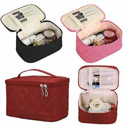 Large multiplepockets Cosmetic Case Makeup Bag Storage Handl