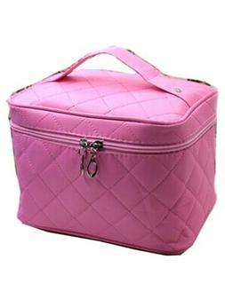 Urmiss Large Travel Cosmetic Case Makeup Bag Organizer Nylon