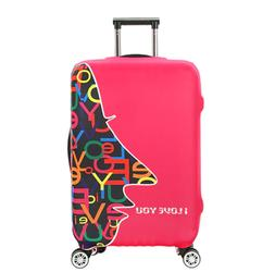 Luggage Protective New Design Cover Travel Case Famale Troll
