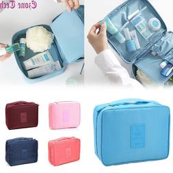 Travel Cosmetic bag Makeup Bag Toiletry Case Hanging Pouch W