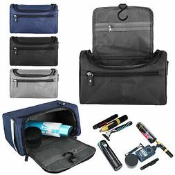 Men's Travel Wash Bag Toiletry Organizer Shaving Cosmetic Ca