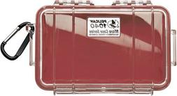 Pelican Micro Case Series Dry Boxes 1040, WL-WI-BK Case, Red