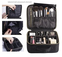 ROWNYEON Professional Portable Cosmetic Bag Makeup Artist Ba