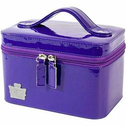 Caboodles mini travel train case, Go Getter Purple, New With