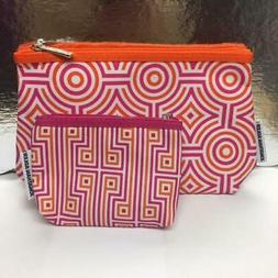 New Clinique Cosmetic Bag Travel Case Pouch  Zip Top Jonatha