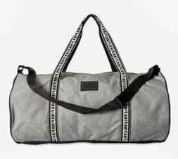 New Victoria's Secret Pink Duffle Gym Travel Bag Gray