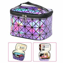 New Women Multifunction Travel Cosmetic Bag Makeup Case Pouc