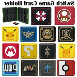 Nintendo Switch Game Card Case Holder Storage Box Travel Car