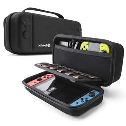 tomtoc Nintendo Switch Travel Case, Hard Shell & 18 Game Car