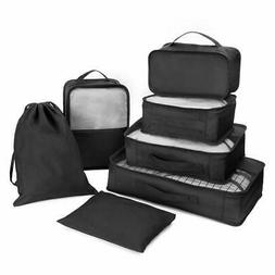 Packing Cubes Forestlang 7Sets Travel Luggage Organizer Case