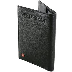 New Passport Cover Travel Case Durable Soft Lambskin Leather