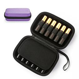 Portable Essential Oil Carrying Case - Hard Shell Case Holds