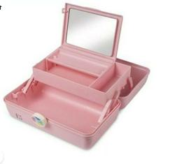 Caboodles Rare Dusty Pink On The Go Girl Classic Cosmetic Ma