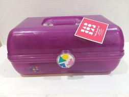 Caboodles Rare Purple  On The Go Girl Classic Cosmetic Makeu
