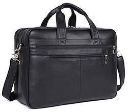 "Polare Real Soft Nappa Leather 17"" Laptop Case Professional"