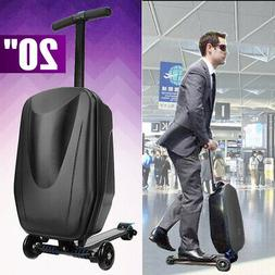 Scooter Luggage PC Travel Carry Suitcase Trolley Skateboard